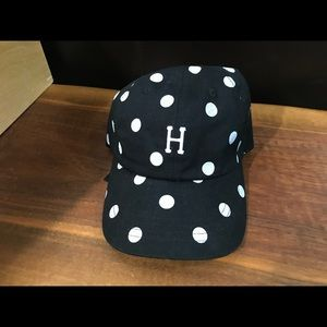 New HUF Polka Dot Dad Hat